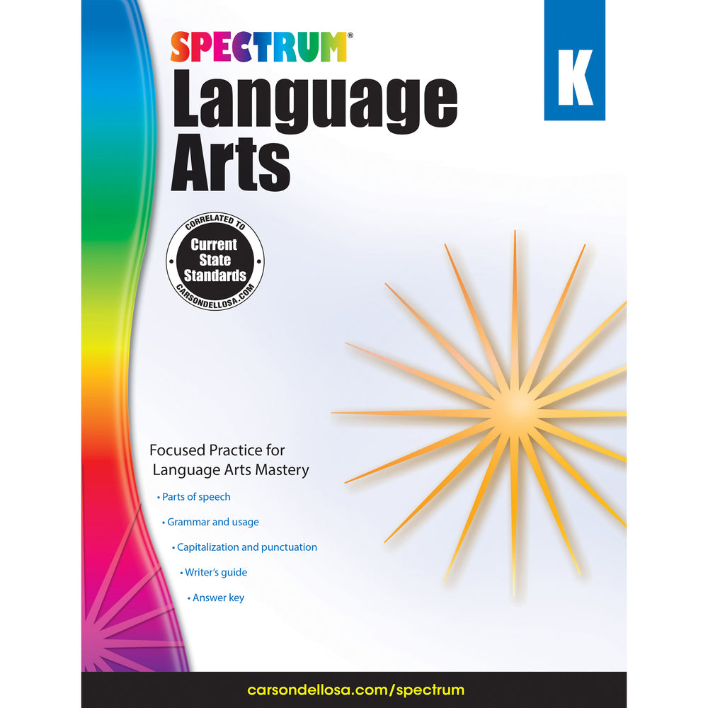 (2 Ea) Spectrum Language Arts Gr K
