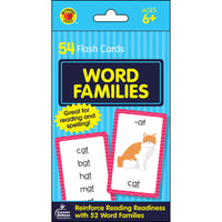 Word Families Flash Cards