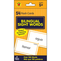 Bilingual Sight Words Flash Cards