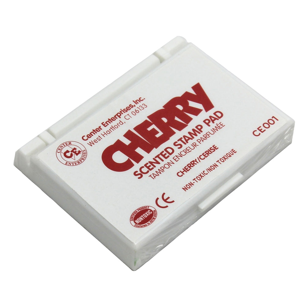 (6 Ea) Stamp Pad Scented Cherry Red