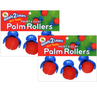 (2 St) Ready2learn Palm Dough Rollers 3 Per Set