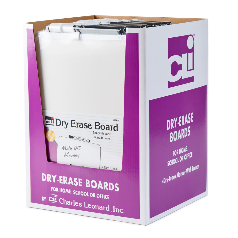 Dry Erase Boards With Frames 12pk Includes Marker W- Eraser