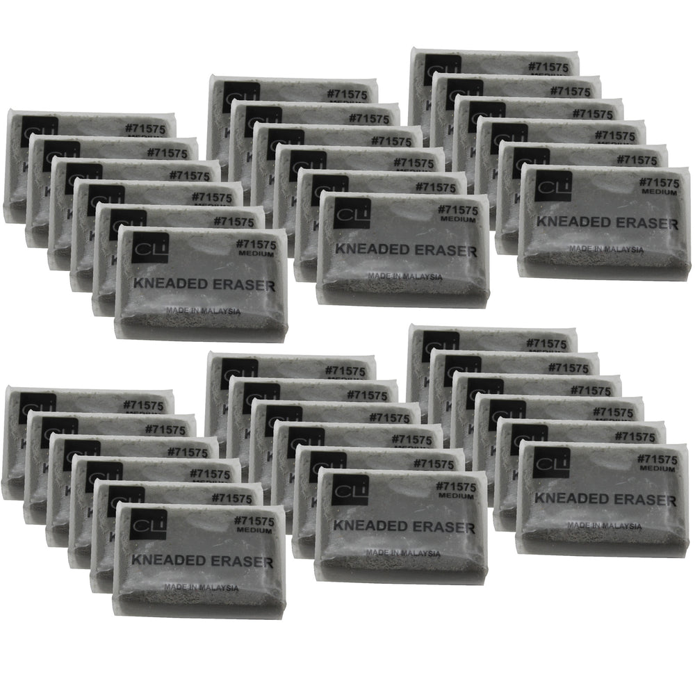 (36 Ea) Kneaded Erasers Medium