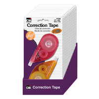 Correction Tape Asrtd Colors 12st