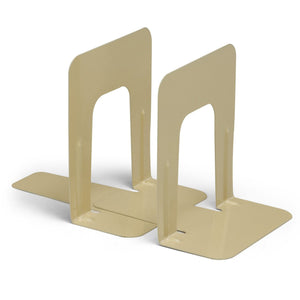 (3 St) Bookends 1 Pair Per Set 9in Height Tan