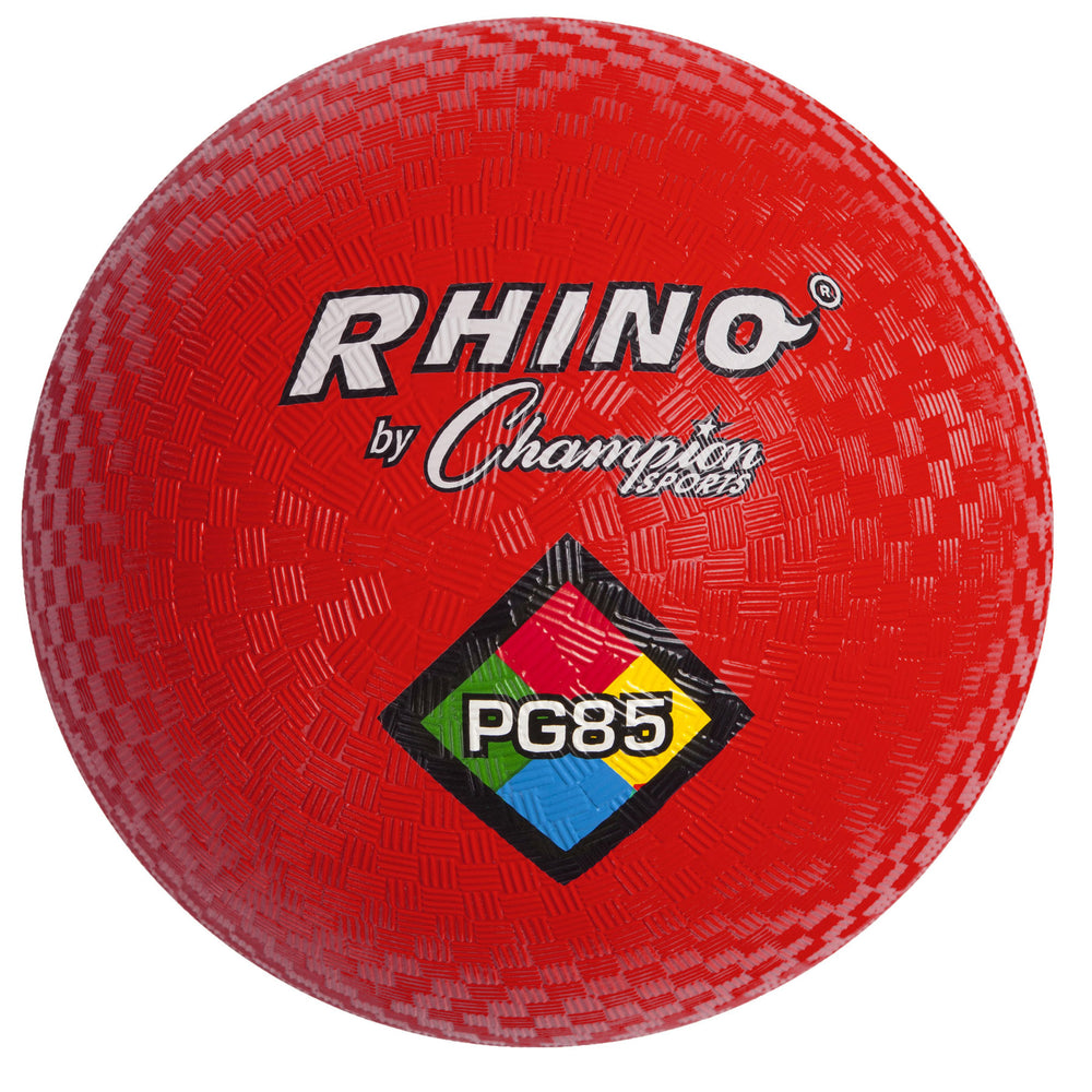 Playground Ball 8 1-2in Red