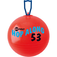 Fitpro 20.5in Hop Along Pon Pon Ball Red Medium