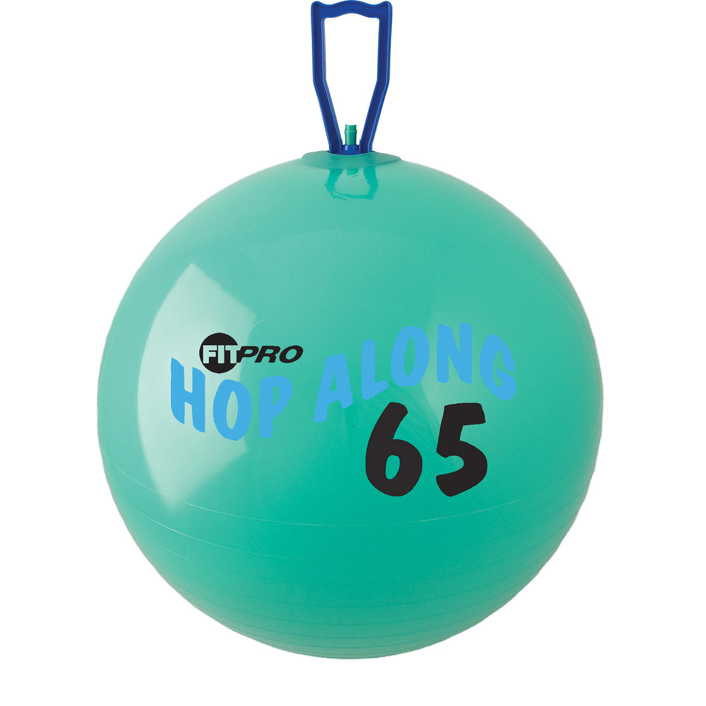 Fitpro 25.5in Hop Along Pon Pon Ball Green Large