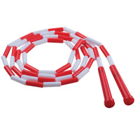 Plastic Segmented Ropes 7ft Red & White