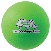 Dodgeball Set-6 Rhino Skin Green