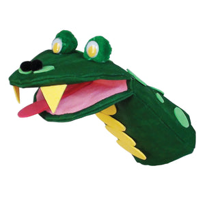 (2 Pk) Canvas Mouth Hand Puppets 6 Per Pk