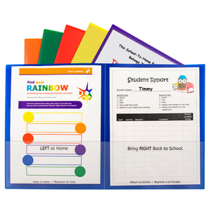 C-line Org 25ct Classroom Connector School To Home Folders