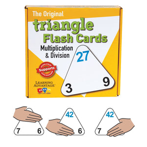 (3 Pk) Triangle Flashcards Mult-div