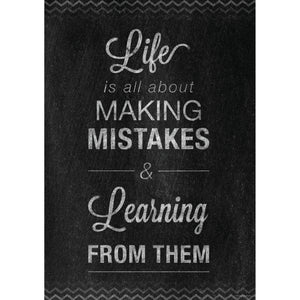 (6 Ea) Mistakes Poster