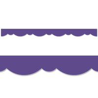 (6 Pk) Ultra Violet Stylish Scallop Border
