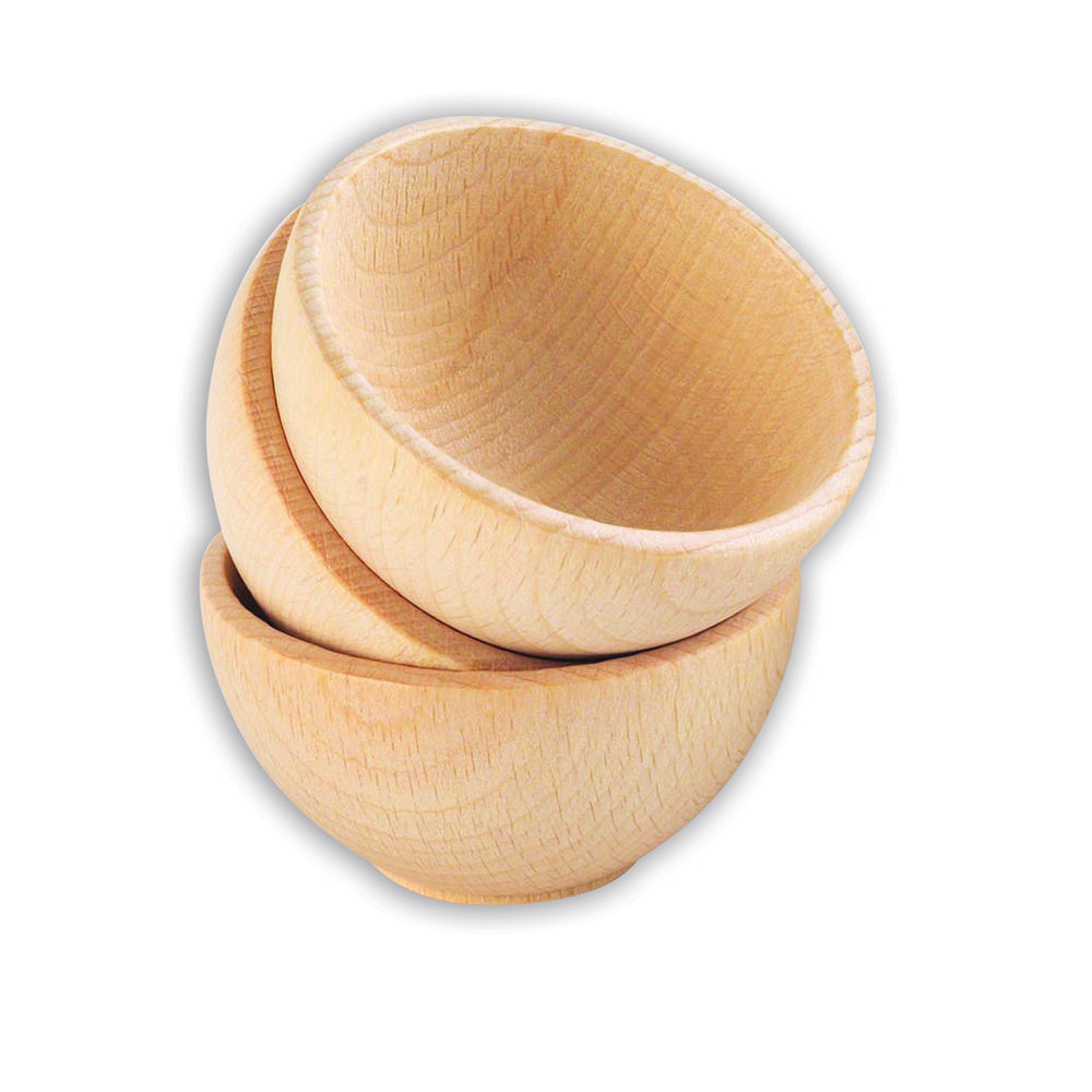 Wooden Bowls 3 Pack
