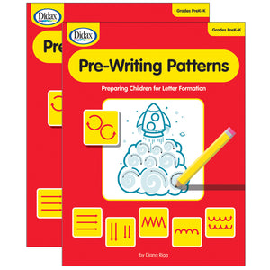 (2 Ea) Pre Writing Patterns