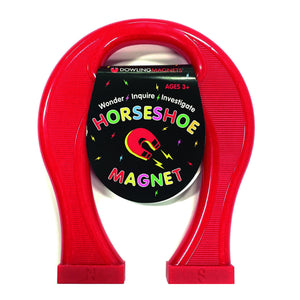 (6 Ea) Magnet Giant Horseshoe 8in