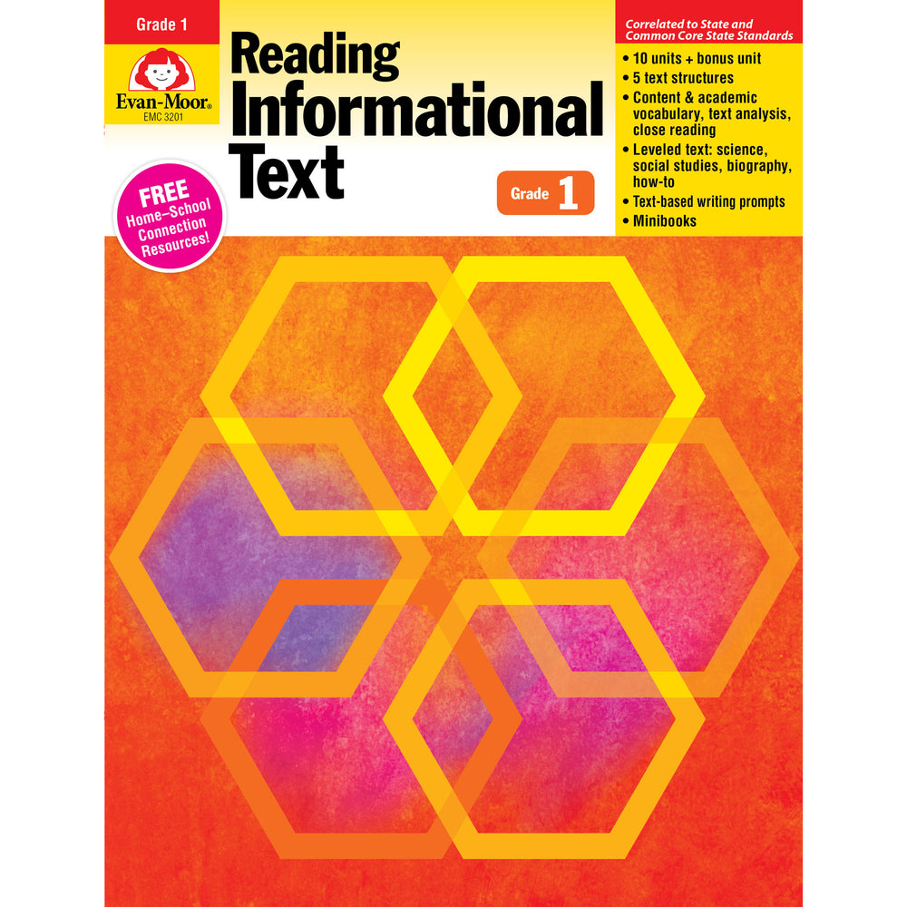 Gr 1 Reading Informational Text Lessons For Common Core Mastery
