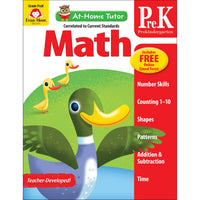 Home Tutor Math Pre K Counting 1-20