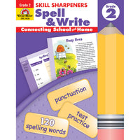 (3 Ea) Skill Sharpeners Spell & Write Gr 2