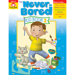(2 Ea) Neverbored Kid Book 2 Ages 4-5