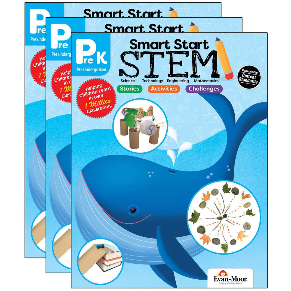 (3 Ea) Smart Start Stem Grade Prek