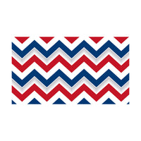 (6 Pk) Patriotic Chevron Spotlight Border