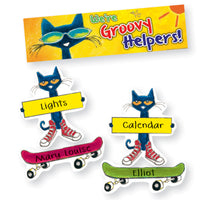 (3 St) Groovy Classroom Jobs Mini Bbs Featuring Pete The Cat