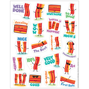 (6 Pk) Bacon Stickers Scented