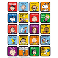 Peanuts Motivational Theme Stickers