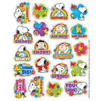 Peanuts Spring Theme Stickers