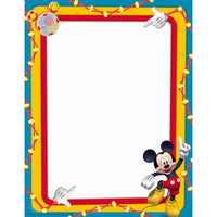Mickey Mouse Clubhouse Primary Colors Computer Paper