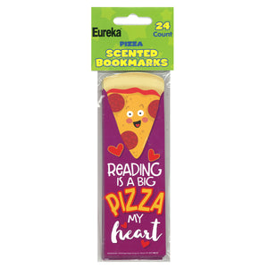 Pizza Bookmarks Scented