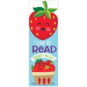 Strawberry Bookmarks Scented