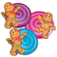 (3 Pk) Candy Land Assorted Paper Cut Outs