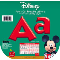 (3 Pk) Mickey Mouse Clubhouse Red Deco Letters