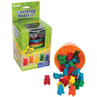 (3 Ea) Counting Bear Cups 50 Ct Bears 5 Cups