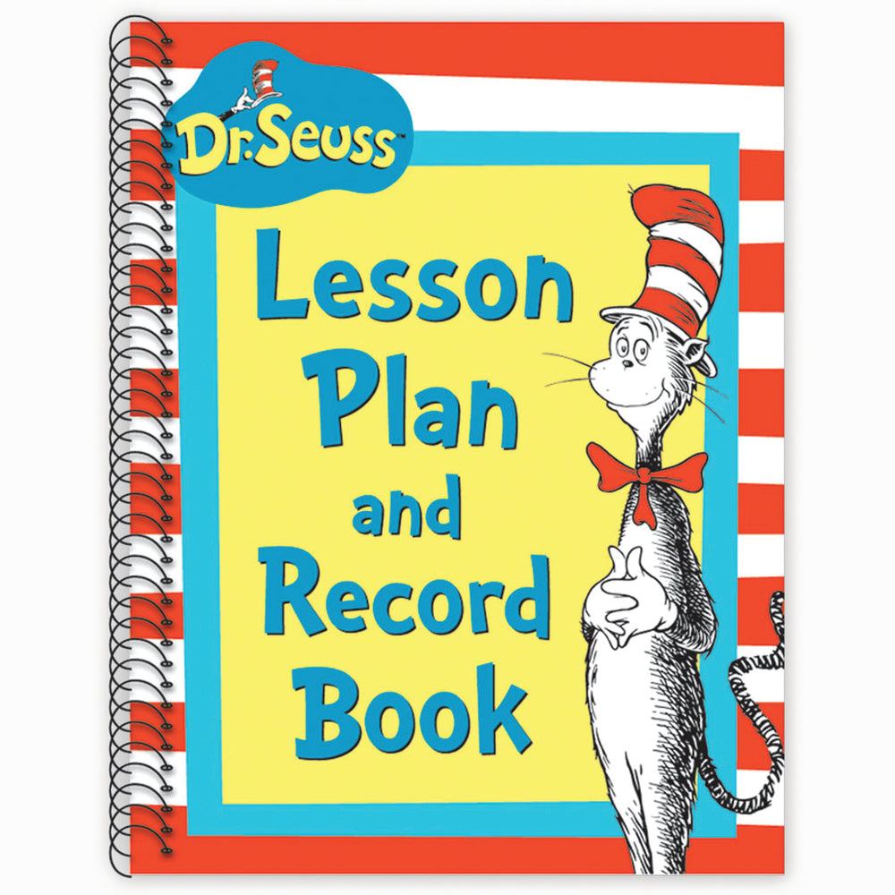 (2 Ea) Cat In The Hat Lesson Plan & Record Book