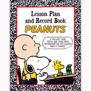 (2 Ea) Peanuts Lesson Plan & Record Book