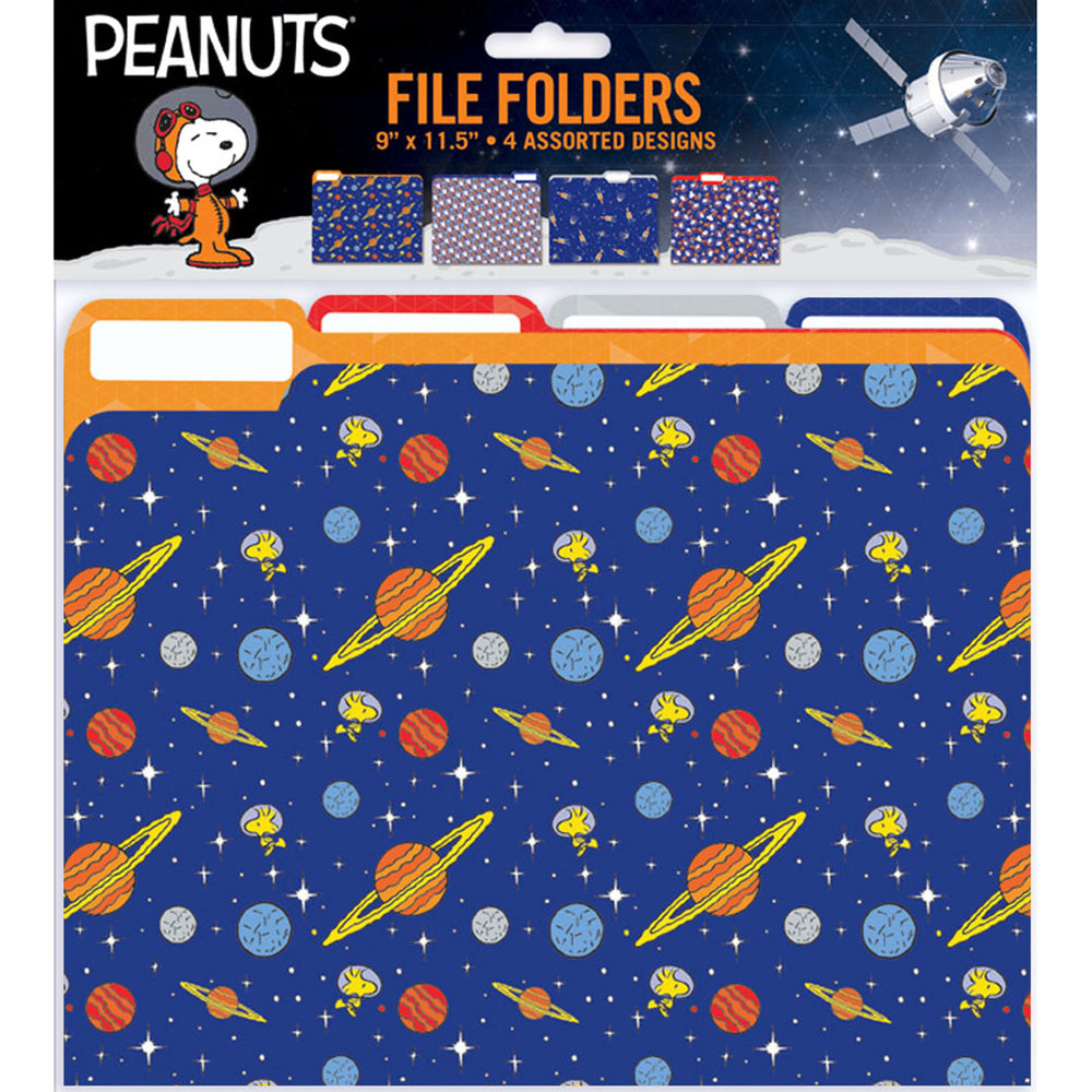 Peanuts Nasa File Folders