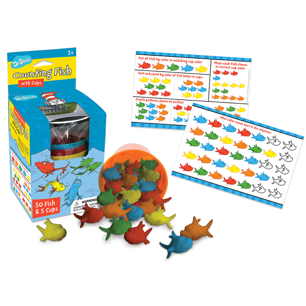 (2 Ea) Dr Seuss Counting Fish