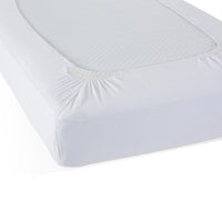 Safefit White Compact Elastic Fitted Sheet