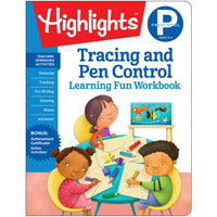 Preschool Tracing And Pen Control Learning Fun Workbooks Highlights
