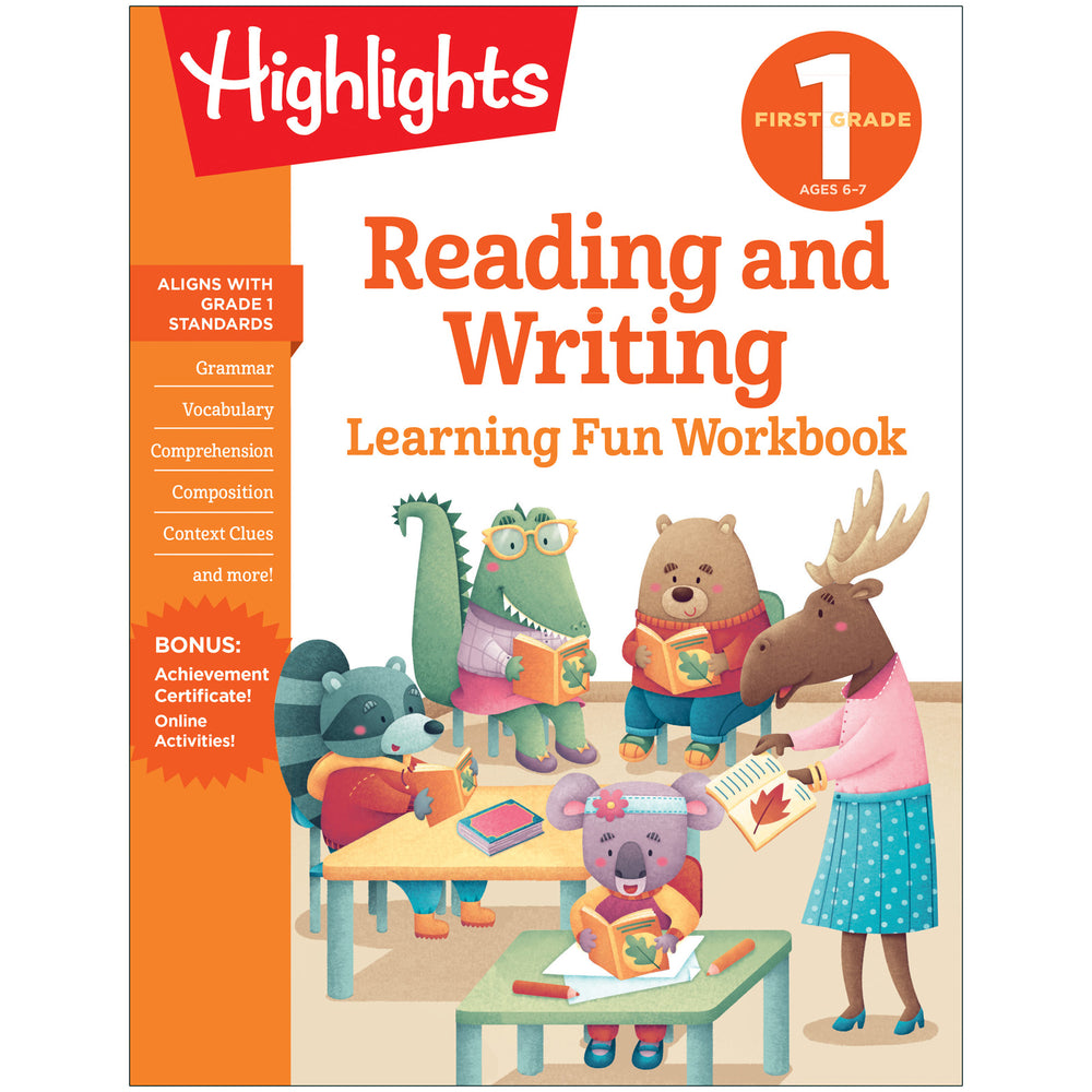 Learning Fun Workbooks Reading & Writing Highlights