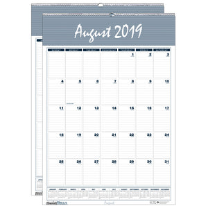 (2 Ea) Wall Calendar 12 Months Aug - Jul