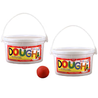 (2 Ea) Scented Dazzlin Dough Red Watermelon 3lb Tub