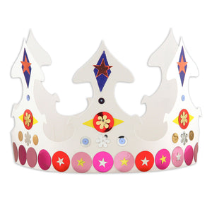 White Crowns Pack Of 24