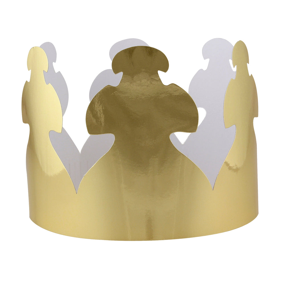 Bright Gold Tag Crowns 24ct