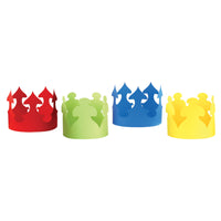 (4 Pk) Bright Crowns